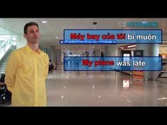 Lesson 3: Airport arriving | Easy to learn Vietnamese language