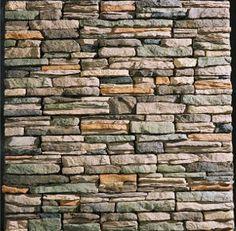 Burnt Ridge Ledgestone Manufactured Stone Panels by Rogue River Stone