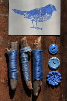 blue composition...blue collection. by jenny walker