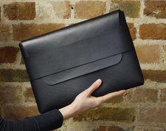 Leather Macbook Case Laptop Case Notebook Case iPad by ExtraStudio