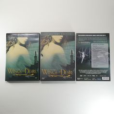 Wings of Desire DVD [Korea Collector's Edition, Slip Cover, 16P. Booklet] 1987