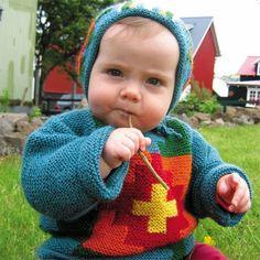 Pull enfant et bonnet