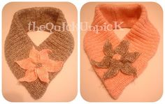 The Quick Unpick: The how to NO-KNIT knitted cowl...