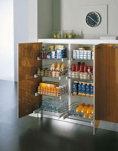 cucina-estraibile 3 cesti portadetersivi cleaning agent per modulo