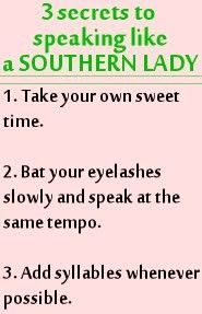 southern accents tumblr - Google Search