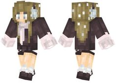 Earmuffs skin for Minecraft PE Skin Minecraft Fille, Skins For Minecraft Pe, Girl With Pink Hair, Minecraft Characters, Pocket Edition, Earmuffs, Cute, Crafts, Plays