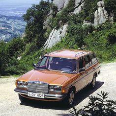 1980 Mercedes-Benz 300TD Turbodiesel (S123)