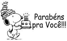 Snoopy Parabéns pra Você!!! #felicidades #feliz_aniversario #parabens