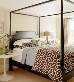 Vital Pieces Of Most Simple Bedrooms Update And Styling With Cheap Furniture 2 - decorincite Dream Bedroom, Home Bedroom, Master Bedroom, Bedroom Decor, Design Bedroom, Bedroom Styles, Bedroom Colors, Beautiful Bedrooms, Simple Bedrooms