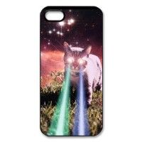 Funny-Mega-Space-Cat-Rising-Iphone-55S-Case-Hard-Back-Case-for-Iphone-55S-0  $2.20 + Shipping