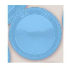 Plastic Marine Blue Dessert Plates. Plastic 7  Dessert Plates Solid Colours. There are 20 Solid Colour Plastic 7  Dessert plates per package. Theu2026  sc 1 st  Pinterest & Plastic Marine Blue Dessert Plates. Plastic 7