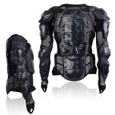 Men Motorcycle Motocross Clothing Racing Armor Spine Chest Protective Jacket Hot