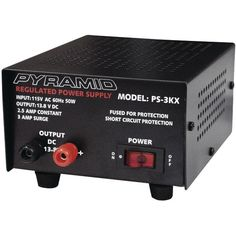 2.5-Amp 13.8-Volt... Available here: http://endlesssupplies.us/products/2-5-amp-13-8-volt-power-supply?utm_campaign=social_autopilot&utm_source=pin&utm_medium=pin