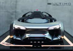 Thesis by Florian Rothbauer Audi Ultimo University of Applied Science Munich Sponsored by Uedelhoven Studios Audi, Florian, Car Sketch, Concept Cars, Super Cars, Conception, Scale Models, Transportation, Design