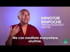 Meditate Everywhere Anytime by a Tibetan Buddhist Master | Mingyur Rinpo...