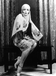 """Actress Clara Bow - the 1920s """"It Girl"""" and my gram's favorite."""