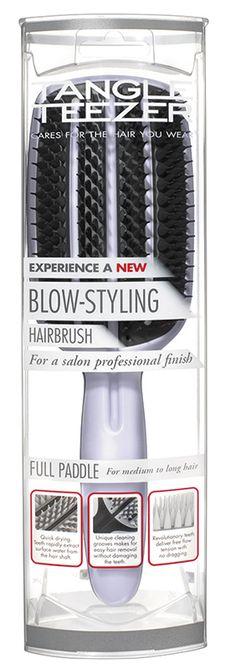 Tangle Teezer's NEW Blow-styling Brush Packaging - http://www.paulcartwrightbranding.co.uk/tangle-teezers-new-blow-styling-brush-packaging/