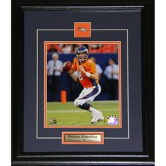 Midway Denver Broncos Peyton Manning 8-inch x 10-inch Framed Wall Plaque