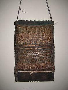 Lovely example of Lombok basketry.