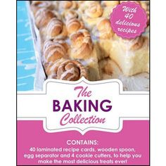 The Baking Collection Book: This set comes complete with recipe cards containing a huge selection of recipes, from cupcakes and muffins through to savory m Cooking Ribeye Steak, Cooking Roast Beef, Cooking Bread, Joy Of Cooking, Cupcake Recipes, Snack Recipes, Cooking Recipes, Cooking Pumpkin Seeds, Pork Tenderloin Oven