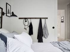 Modern meets classic in this bedroom