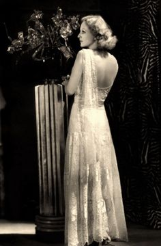 Joan Crawford in a stunning gown, 1931.