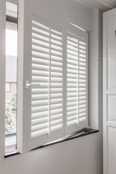 Are Plantation Shutters the Right Choice for Your Windows? Interior, Home, Windows, Interior Shutters, Window Decor, House Flooring, House Interior, Drapes And Blinds, Shutters