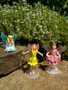 My Fairy Garden elfjes Blossom, Lily en Belle op het My Fairy Garden blog.