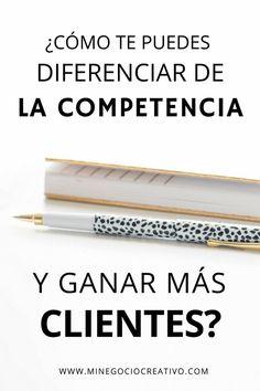 ¿Qué me puede diferenciar de mi competencia? #negocio #emprendimiento #competencia #clientes