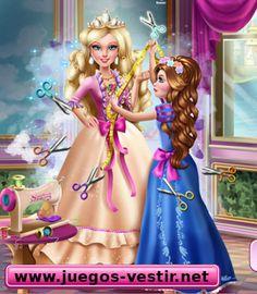 Corinne quiere hacer un #vestido para su prima #barbie   #juegosdevestir   #juegosdebarbie    http://www.juegos-vestir.net/jugar/vestidos-para-barbie