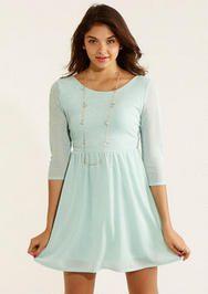 Shine Skater Dress delias.com $39.50