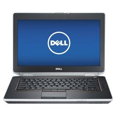 "Dell - 14"" Refurbished Laptop - Intel Core i5 - 8GB Memory - 500GB Hard Drive - Black - Larger Front"