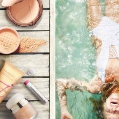 ‪Did you know‬ that all Jane Iredale ‪#‎SPF‬ products are water resistant to 40 minutes? Make sure to protect your skin even while wet!