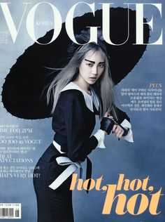 ASIAN MODELS BLOG: MAGAZINE COVER: Soo Joo Park on Vogue Korea, June 2013