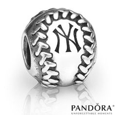 New York Yankees MLB Baseball Charm by PANDORA® Jewelry - MLB.com Shop