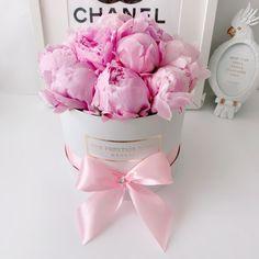 """The Prestige Roses España's Instagram photo: """"Peonias 🌸 en caja mediana #peonias 💗 #mantenemos nuestro horarios cumpliendo y las normas higiene y conducta marcadas por el gobierno…"""" Rose, Instagram, Crates, Pink, Roses"""