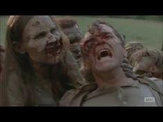 AMC's The Walking Dead - Pushing Walkers Off The Road - YouTube #iheartwalkers #walkers #zombies