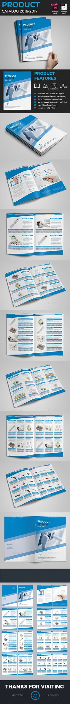 Product Catalog Template  — InDesign Template #catalog • Download ➝ https://graphicriver.net/item/product-catalog-template/18201118?ref=pxcr