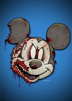121 Best Dark Mickey Images On Pinterest Macabre Scary And Mickey
