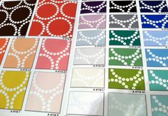 Wow- Lizzy House Pearl Bracelet in 26 colors!  Sew Fresh Fabrics