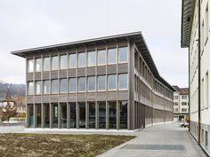 Perspektive Bürogebäude