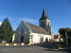 small churches of France | Church on Sunday...Luze