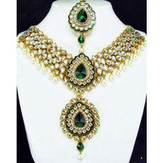 Heavy Kundan Necklace Set
