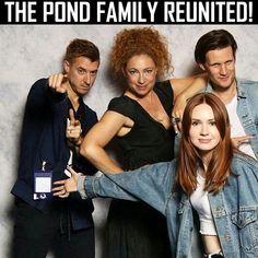 Pond family reunion.