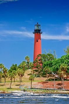 Jupiter Inlet Lighthouse, Jupiter, Florida.  #ridecolorfully