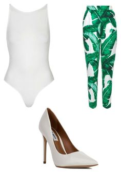 """Untitled #1839"" by clarry-sinclair ❤ liked on Polyvore featuring Topshop, Dolce&Gabbana and Steve Madden"