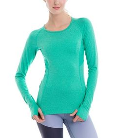Another great find on #zulily! Green Tropic Mix Lynn Tee #zulilyfinds