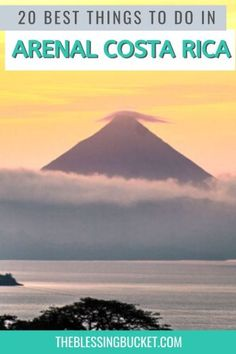 20 Awesome Things to do in Arenal Costa Rica - Adventurers' Paradise - The Blessing Bucket Yoga Retreat Center, Stuff To Do, Things To Do, Central America, South America, Latin America, Whitewater Rafting, Costa Rica Travel, Amazing Destinations