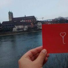 Welo cruzando rio Reno na Alemanha para Suíça❣ Foto por Spreader-X  #welo #spreadwelo #spreadlove #amor #love