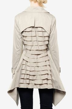 LOVE!!!  BCBG Ophelia Trench